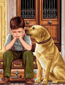 Qui sont les Indigos dans ENFANTS INDIGO enfant-et-son-chien-231x300