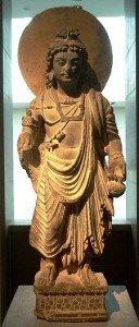 Maitreya et l'extériorisaiton dans ENSEIGNEMENTS de MAITREYA 225px-kushanmaitreya-128x300
